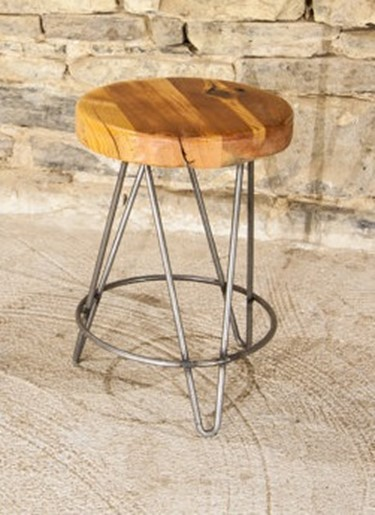 Reclaimed Wood Bar Stools Ftw The Dirty Baker S Dozen