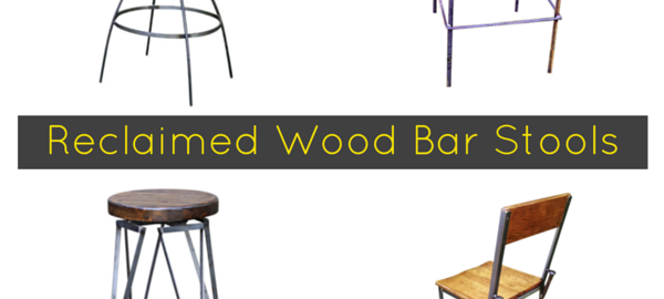 Reclaimed Industrial Bar Stools - Cover Image
